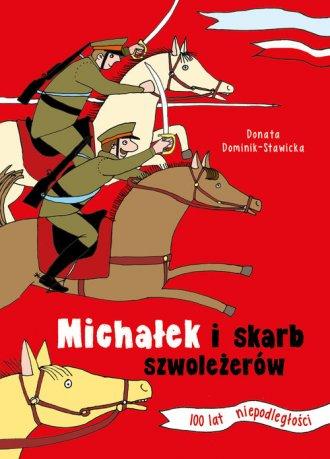 Michałek i skarb szwoleżerów - okładka książki