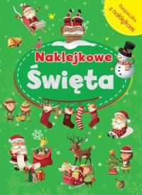 Naklejkowe Święta - okładka książki