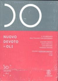 Nuovo Devoto-oli Il vocabolario dellitaliano contemporaneo - okładka podręcznika