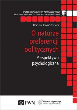 O naturze preferencji politycznych - okładka książki