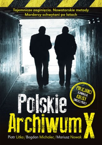 Polskie Archiwum X. Policjanci - okładka książki