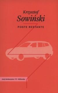 Poste restante - okładka książki