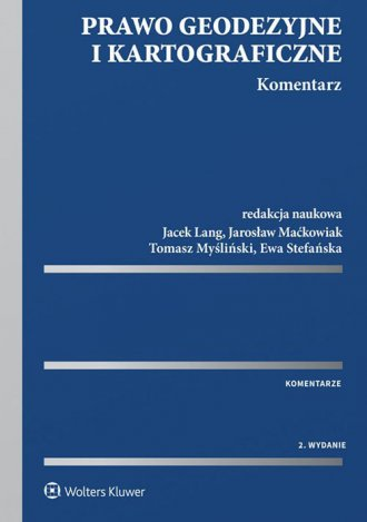 Prawo geodezyjne i kartograficzne. - okładka książki
