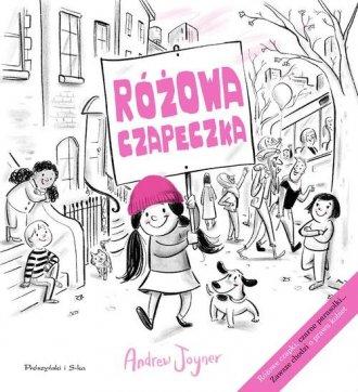 Różowa czapeczka - okładka książki