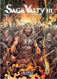Saga Valty. Tom 3 - okładka książki