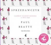 Sprzedawczyk - Paul Beatty - pudełko audiobooku