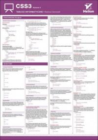 Tablice informatyczne CSS3 Wydanie - okładka książki
