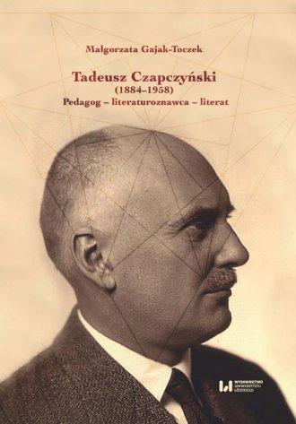Tadeusz Czapczyński (1884-1958). - okładka książki