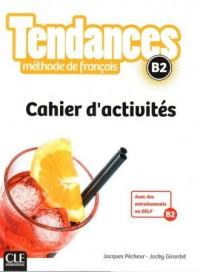 Tendances B2 ćwiczenia - okładka podręcznika