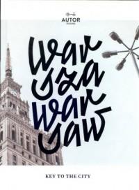 Warszawa Warsaw - Wydawnictwo - okładka książki