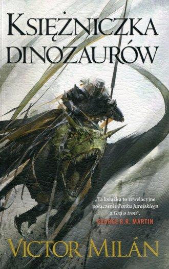 Władcy dinozaurów. Tom 3. Księżniczka - okładka książki