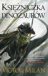 Władcy dinozaurów. Tom 3. Księżniczka dinozaurów - okładka książki