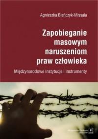 Zapobieganie masowym naruszeniom - okładka książki