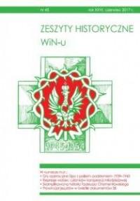 Zeszyty Historyczne WiN-u nr 45 (czerwiec 2017) - okładka książki