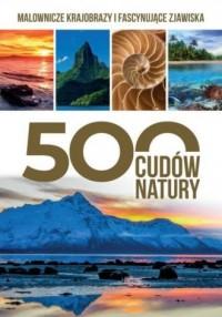 500 cudów natury - okładka książki