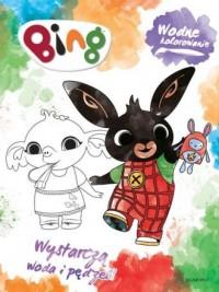 Bing. Wodne kolorowanie - okładka książki