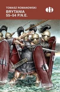 Brytania 55-54 p.n.e. - Tomasz - okładka książki