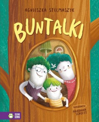 Buntalki - okładka książki