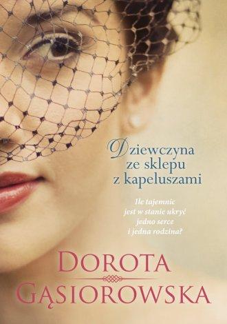 Dziewczyna ze sklepu z kapeluszami - okładka książki