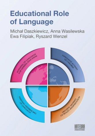 Educational Role of Language - okładka książki