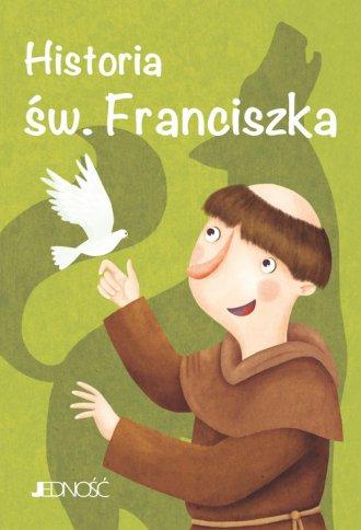 Historia św. Franciszka. Wielcy - okładka książki