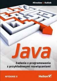 Java. Zadania z programowania z - okładka książki