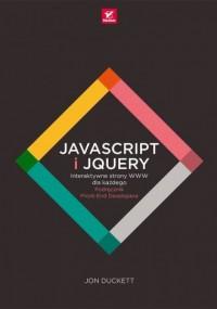 JavaScript i jQuery Interaktywne - okładka książki