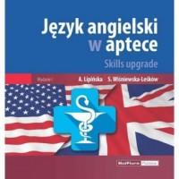 Język angielski w aptece Skills upgrade - okładka podręcznika