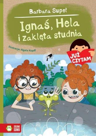 Już czytam Ignaś Hela i zaklęta - okładka książki