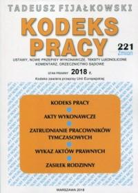 Kodeks Pracy 2018 - okładka książki