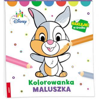 Kolorowanka maluszka - okładka książki