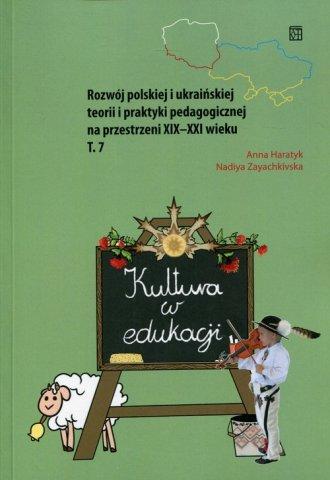 Kultura w edukacji. Rozwój polskiej - okładka książki