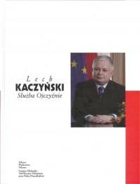 Lech Kaczyński. Służba Ojczyźnie - okładka książki