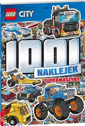 LEGO City 1001 naklejek. Supermaszyny - okładka książki