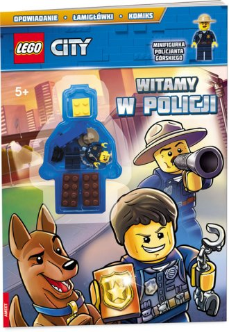 Lego City. Witamy w policji - okładka książki