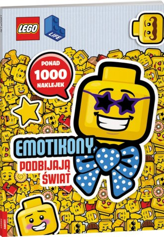 LEGO Iconic. Emotikony podbijają - okładka książki