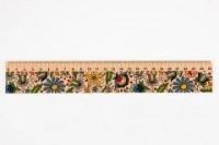 Linijka drewniana 25 cm kaszubska - zdjęcie produktu