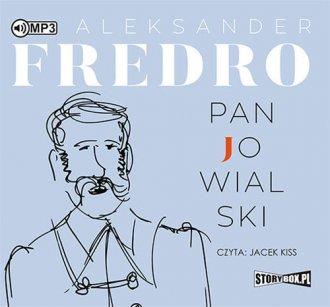 Pan Jowialski - pudełko audiobooku