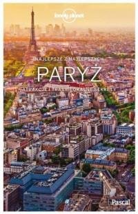 Paryż. Lonely Planet - Wydawnictwo - okładka książki