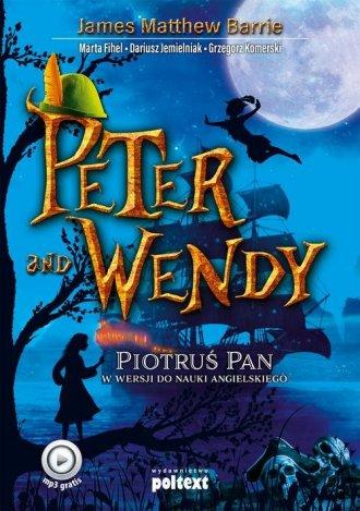 Peter and Wendy. Piotruś Pan w - okładka podręcznika