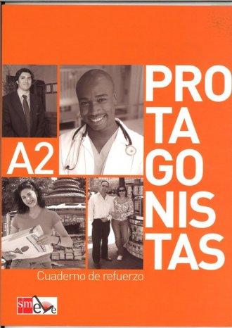 Protagonistas A2. Ćwiczenia - okładka podręcznika