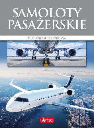Samoloty pasażerskie - okładka książki
