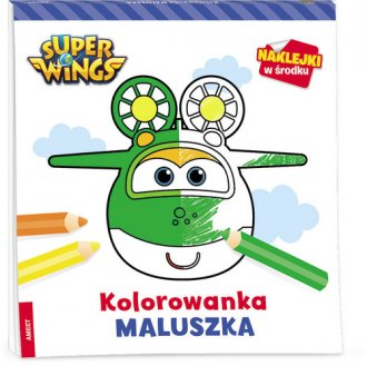 Super Wings. Kolorowanka maluszka - okładka książki