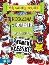 Tomek Łebski. Tom 12. Rodzina, - okładka książki