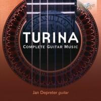 Turina: Complete Guitar Music - - okładka płyty