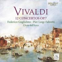 Vivaldi: 12 Concertos Op. 7 - okładka płyty