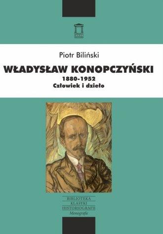 Władysław Konopczyński 1880-1952. - okładka książki