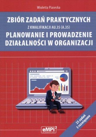 Zbiór zadań praktycznych z kwalifikacji - okładka podręcznika