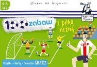100 zabaw z piłką nożną - Monika - okładka książki