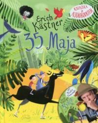 35 Maja. Książka z audiobookiem - okładka książki